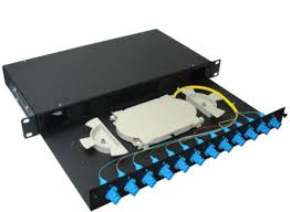 des:پچ پنل 12 پورت LC فیبر نوری Patch Panel LC
